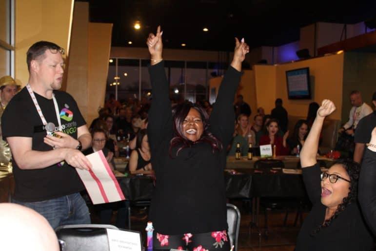 Woman Winning Gb