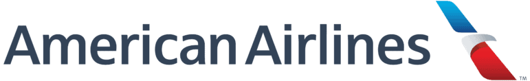 american airlines logotype white