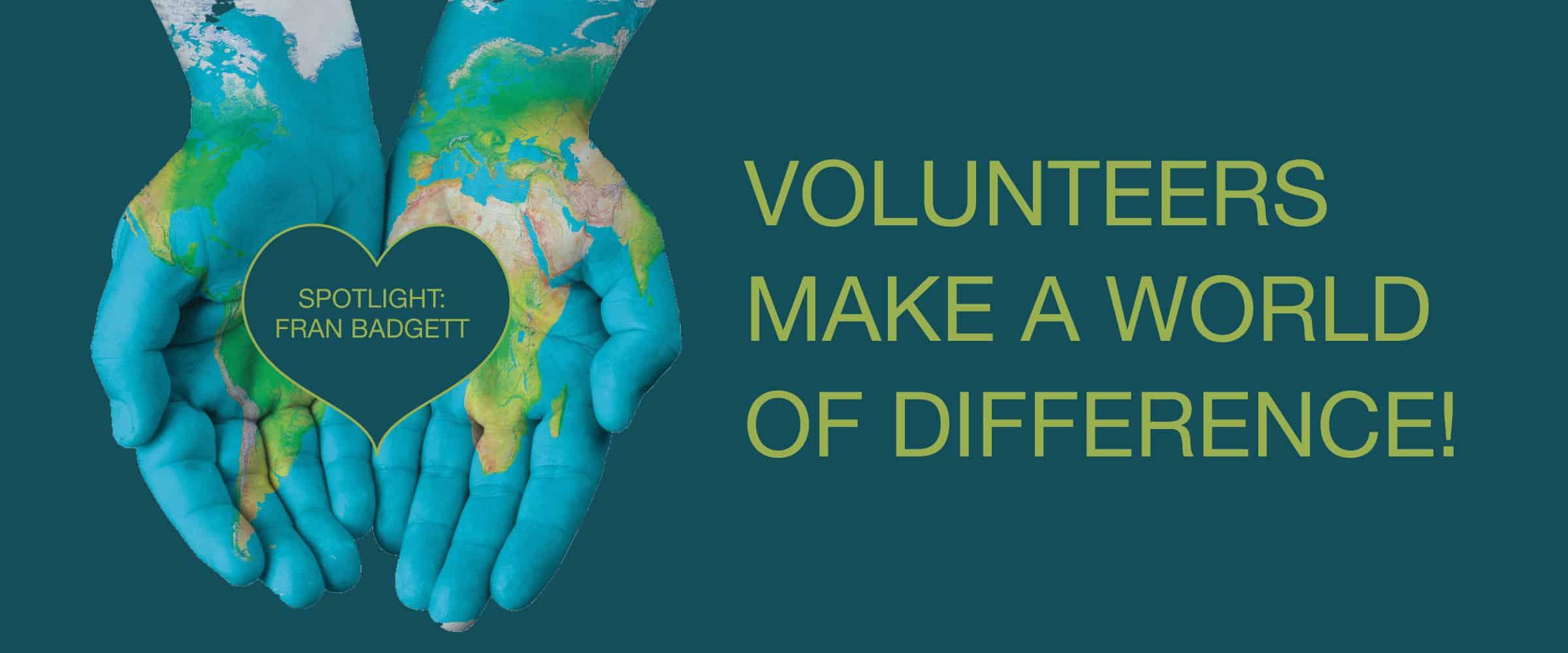 volunteer appreciation blog header fran badgett