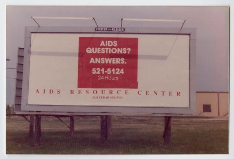 aids resource center billboard