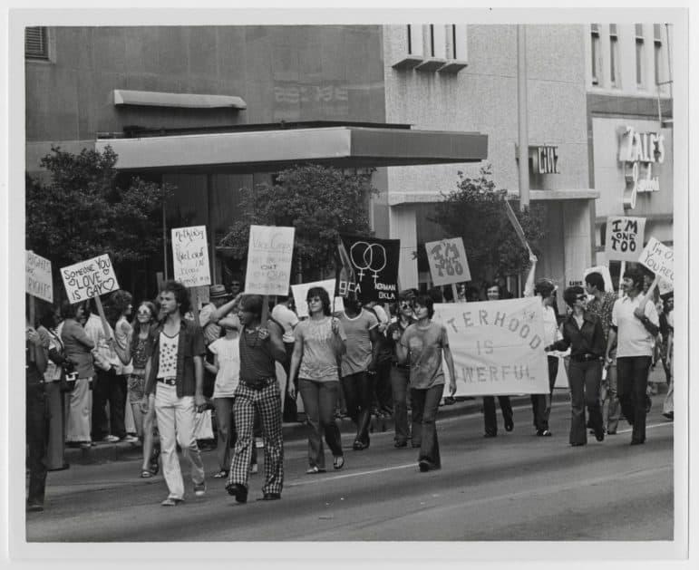 gay pride parade dallas 1972