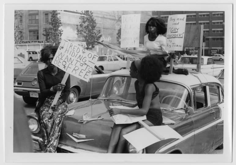 gay pride supporters 1972