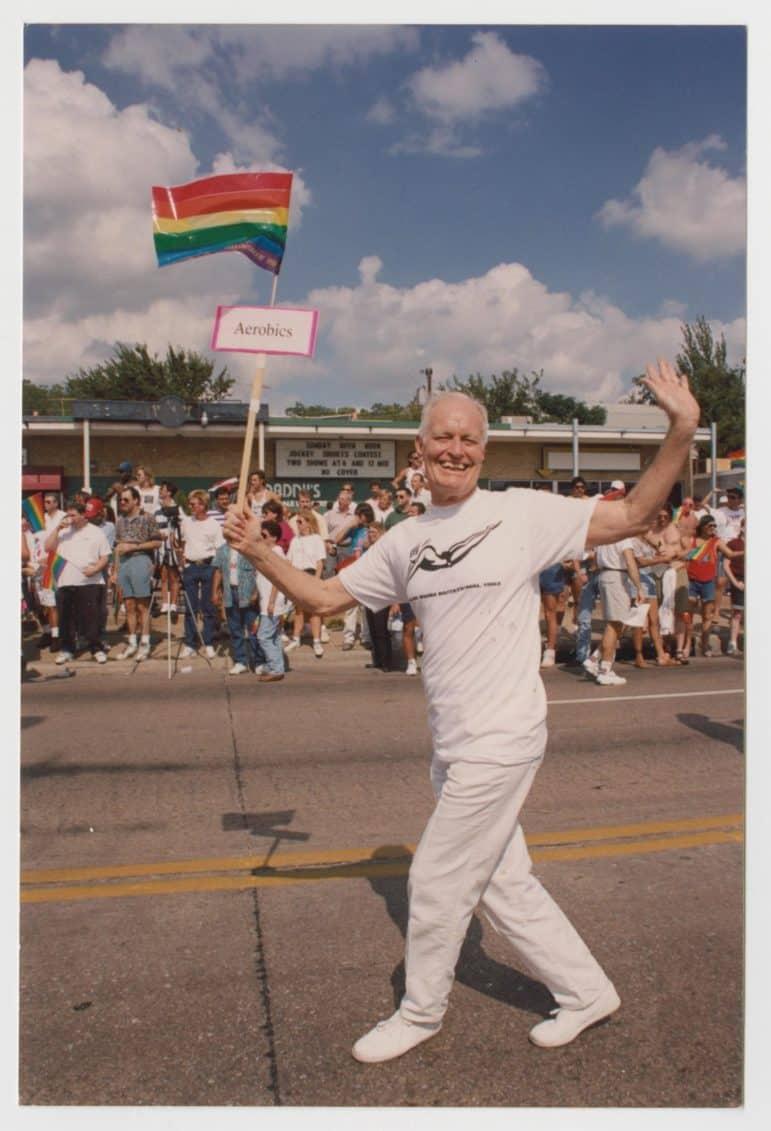 phil johnson 1993 at pride parade