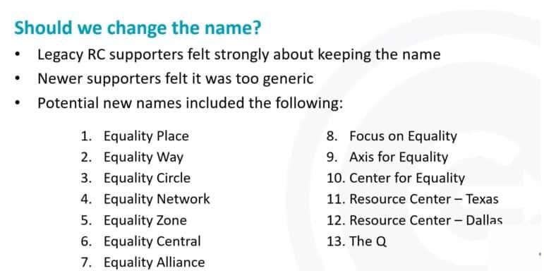 potential rc names