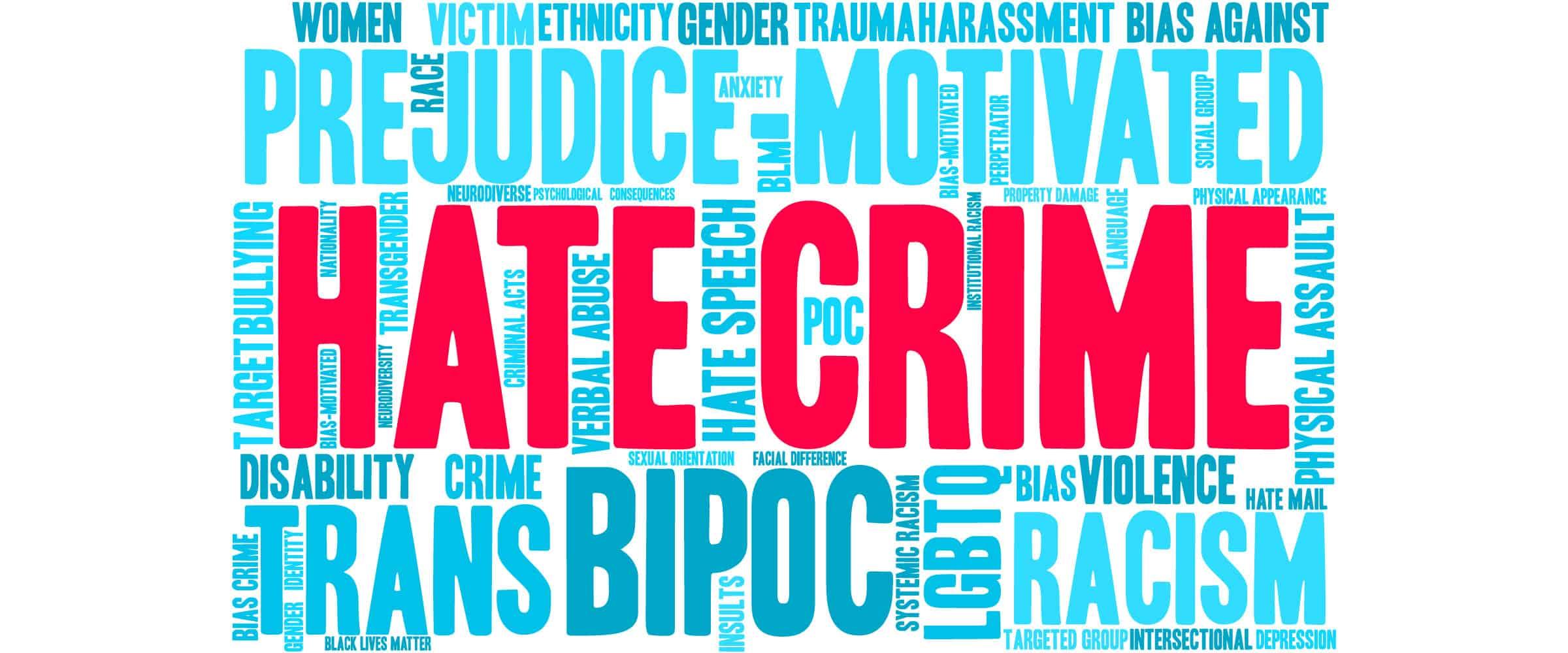 hate crimes blog website header